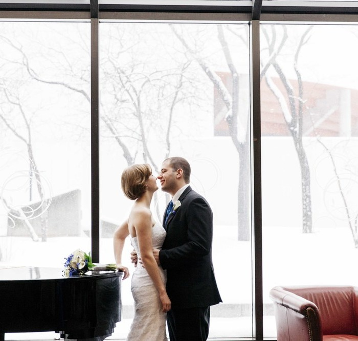 Rachel & Max's Winter Wedding -- Toronto Wedding Photographer