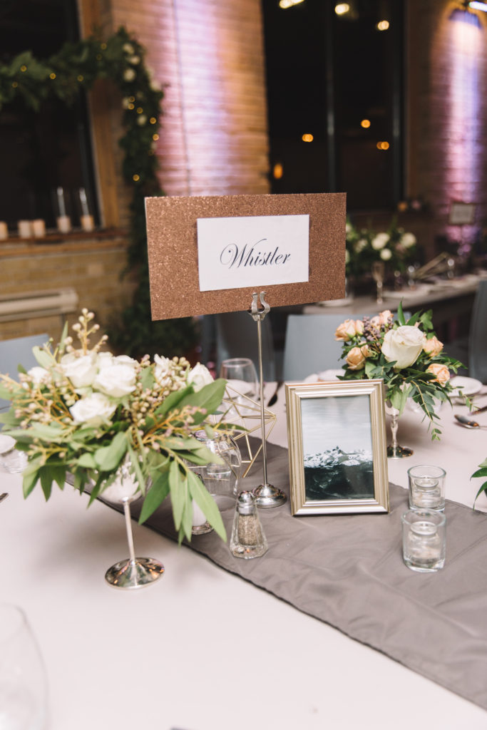 Table settings at 2nd Floor Events
