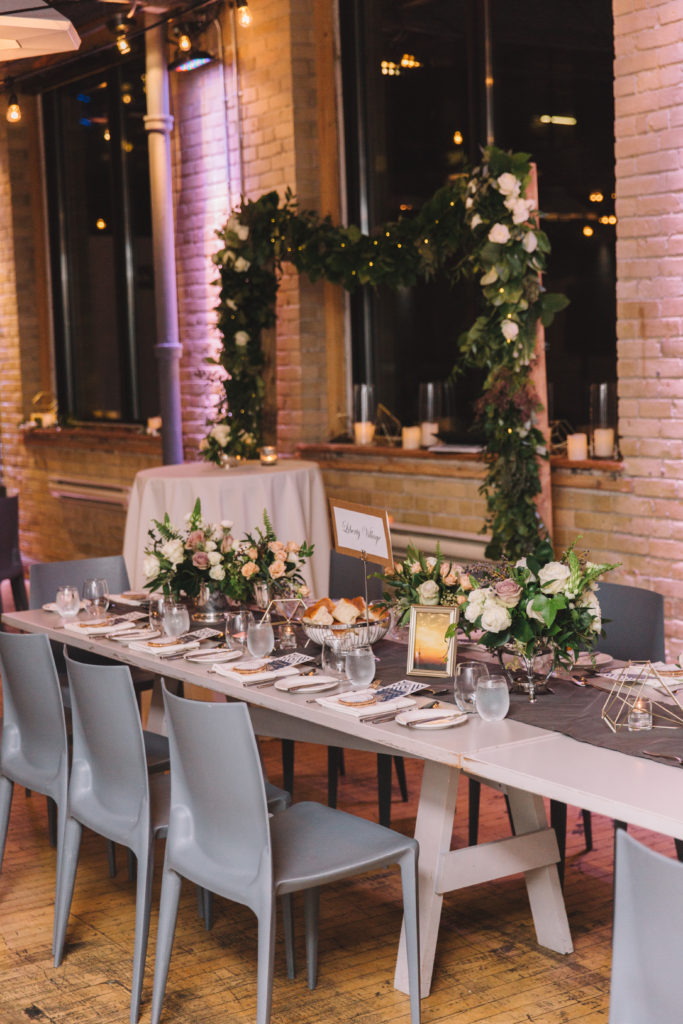 Table photo at 2nd Floor Events