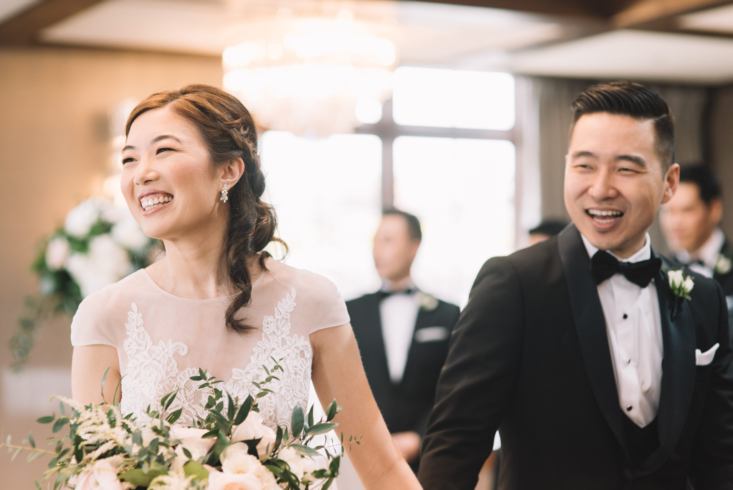 Grandview room ceremony at Whistle Bear Golf Club