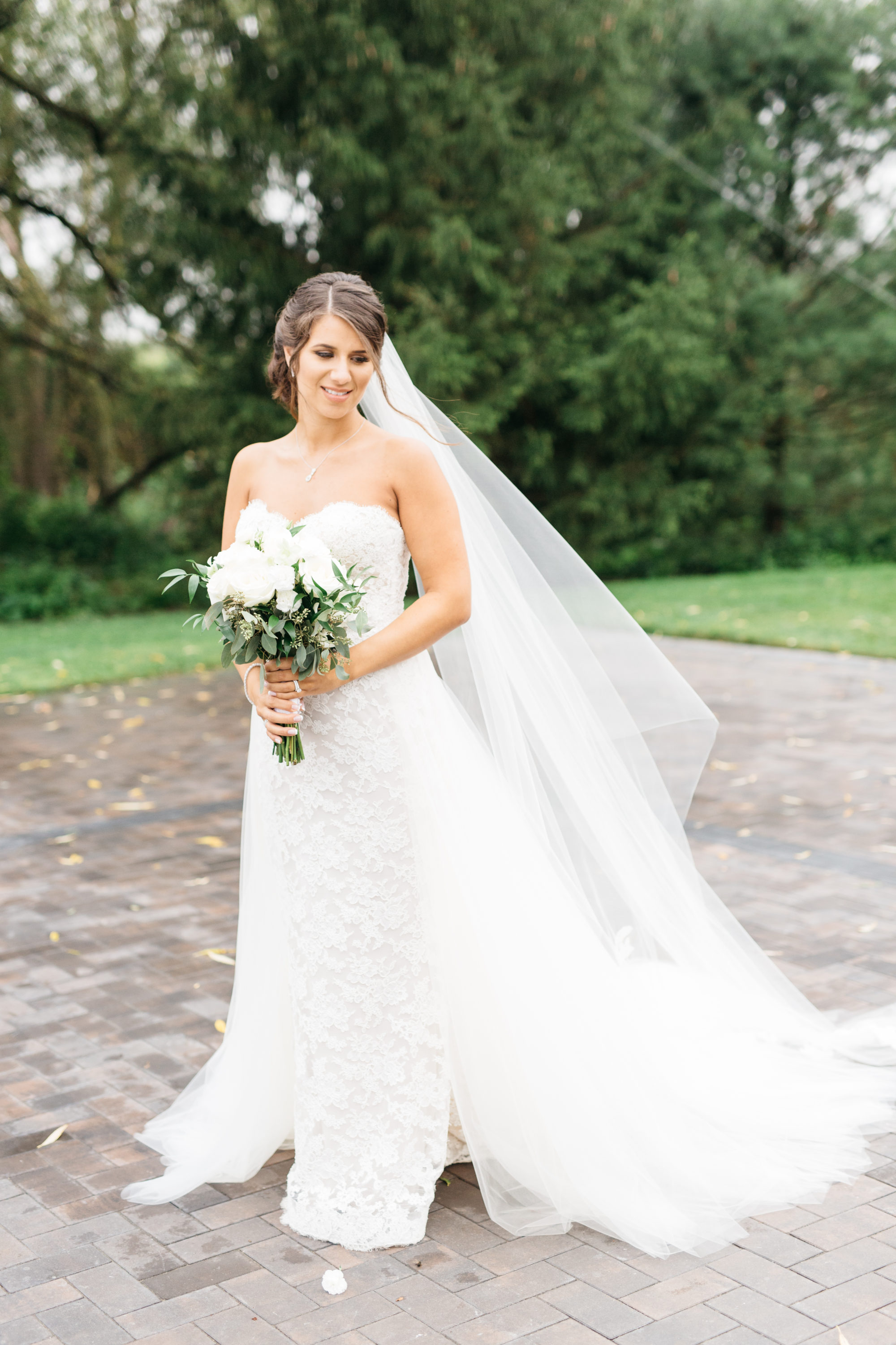 Bride portraits at The Arlington Estate