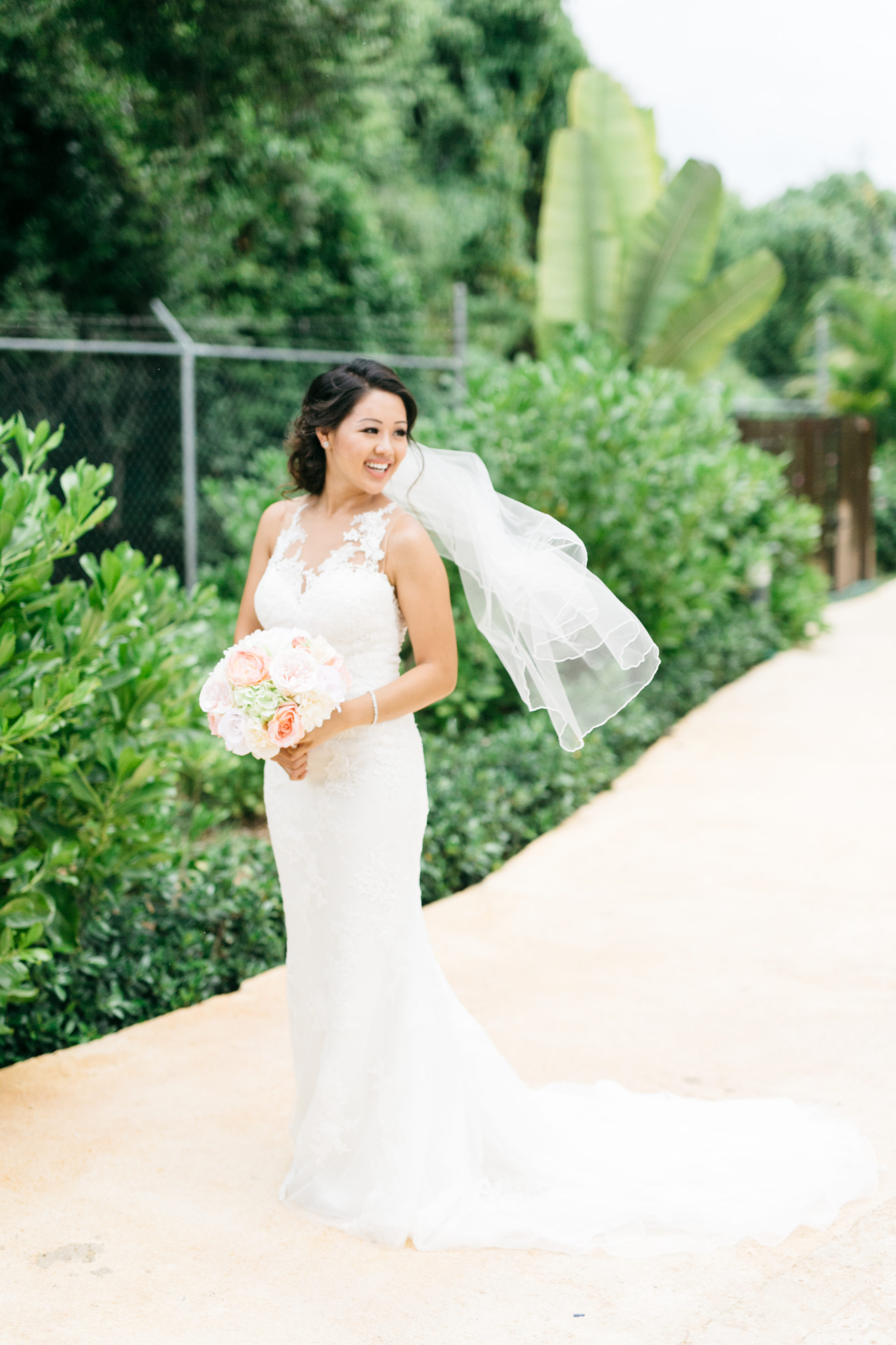 Bride portrait at Royalton White Sands Resort Jamaica