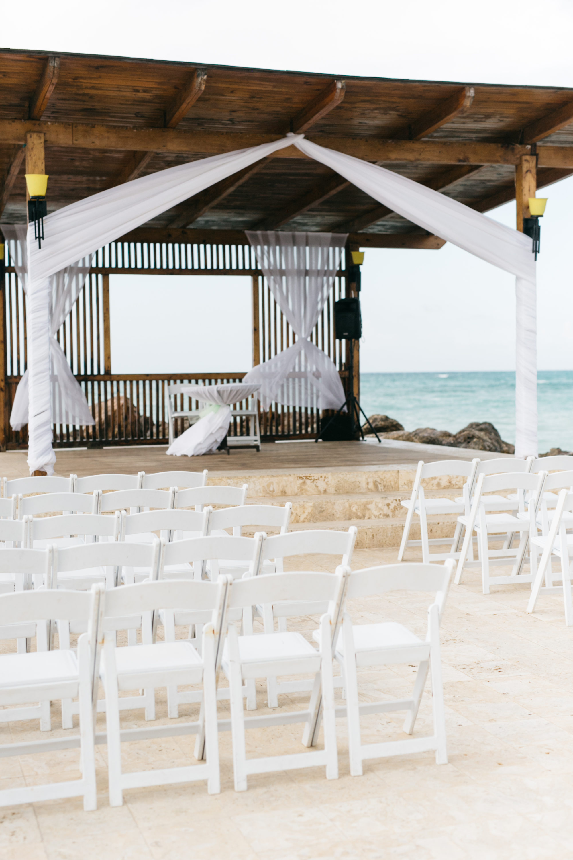 Destination wedding at Royalton White Sands Resort Jamaica