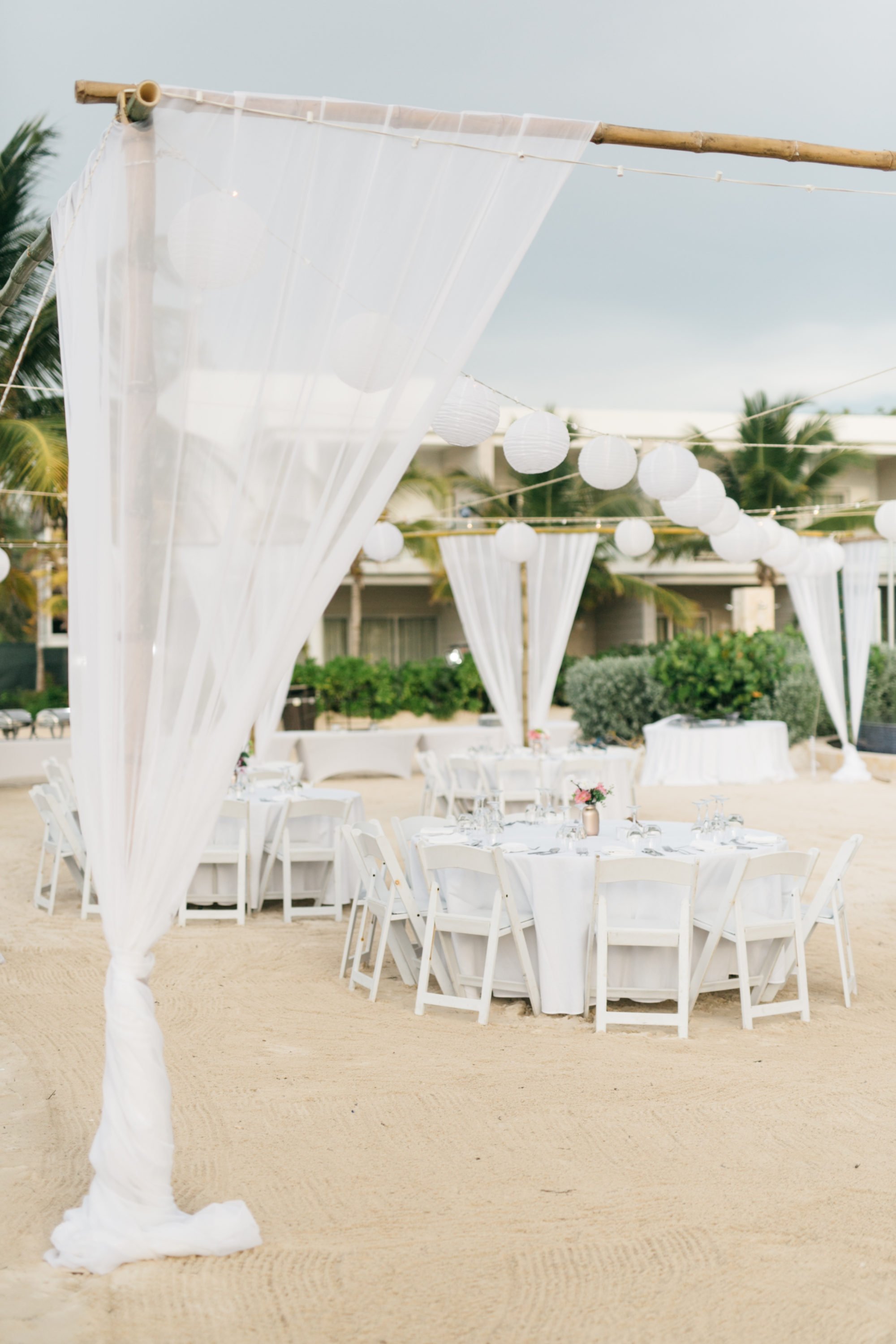 Royalton White Sands Resort beach reception