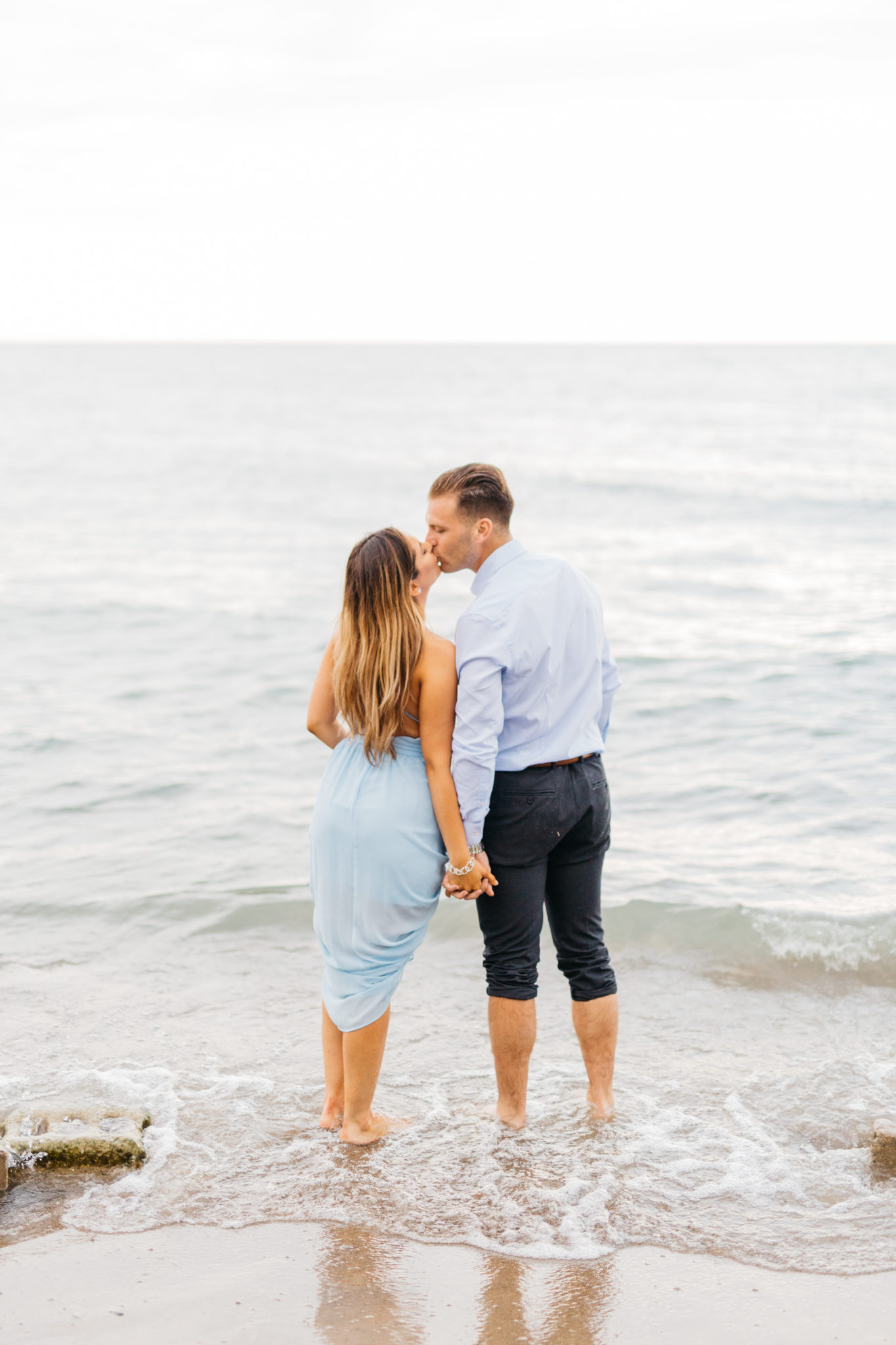 Engagement session at Scarborough Bluffs