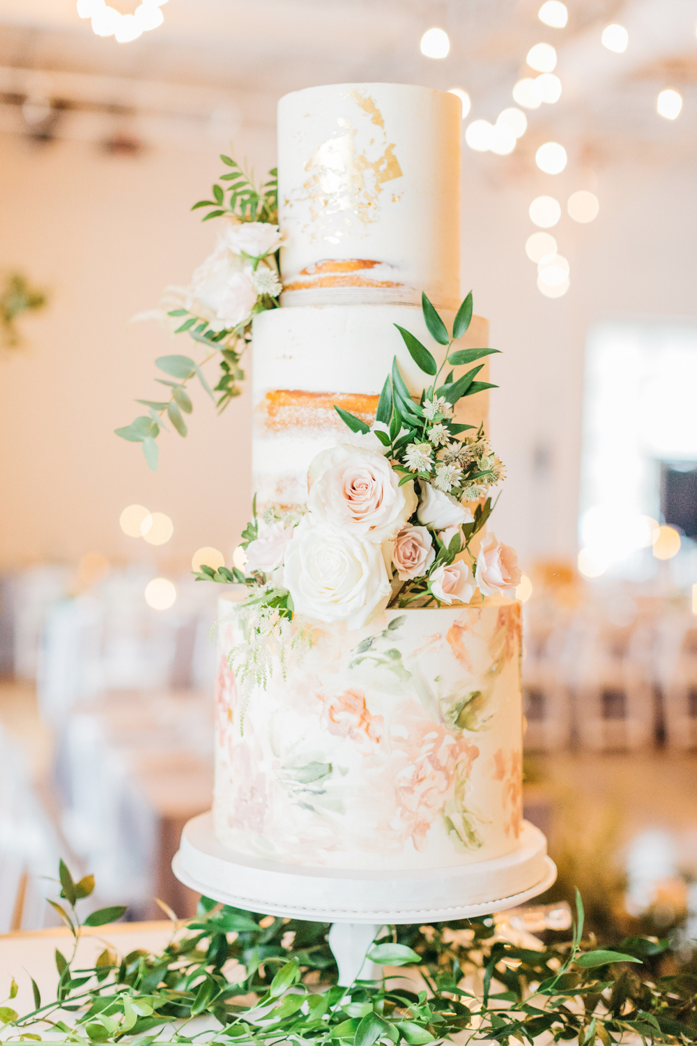 Wedding cake at The Glass Factory